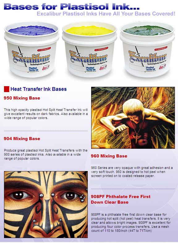 JMC Plastisol Ink - Additivives, Adhesives & Bases - 950